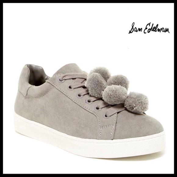 Sam Edelman Schuhes Pom   Pom Schuhes Pom Flats Sneakers   Poshmark 3ae75e